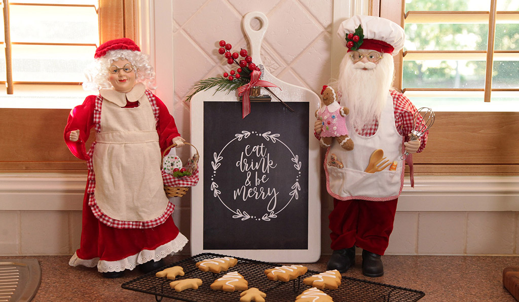 Christmas Kitchen – Free Poster Download