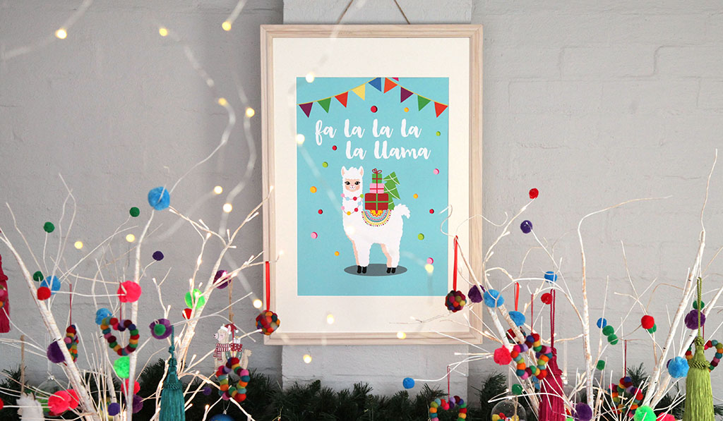 Christmas Fiesta – Free Poster Download