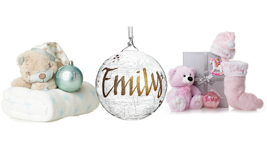 Beautiful Baby's First Christmas Gifts