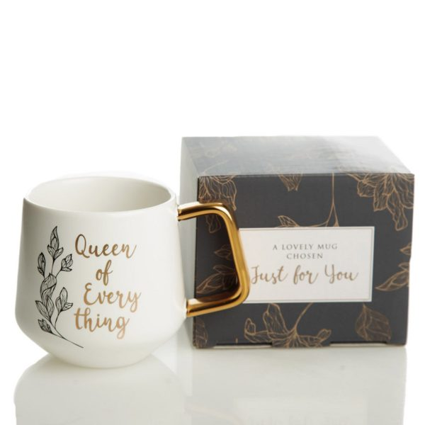 Personalised Queen of everything Mug Gift Box - Just For You