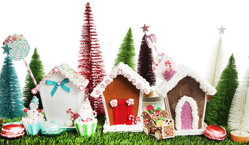 Make and Create: Peppermint Candy Christmas Gingerbread House