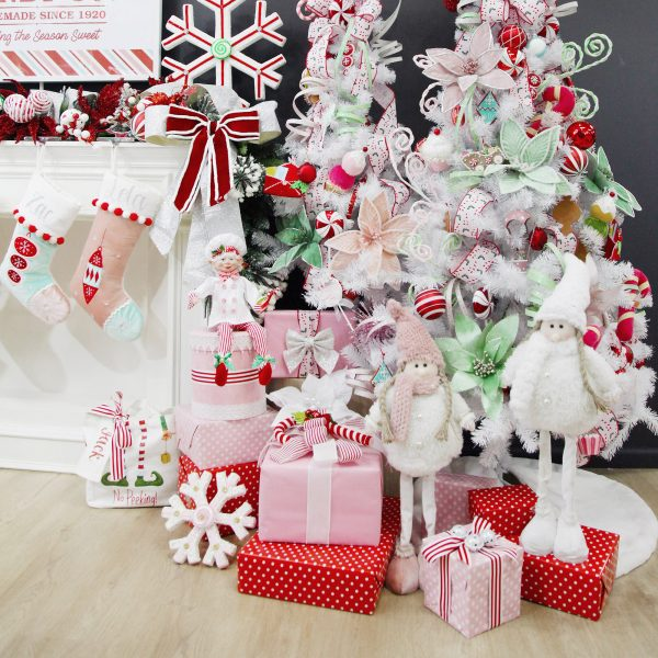 Peppermint Candy Christmas Tree Decorations