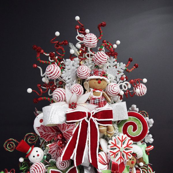 Peppermint Candy Christmas Tree Topper