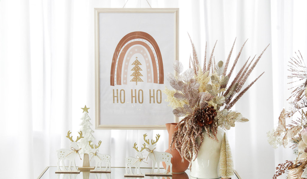 Boho Glam Christmas – Free Poster Download