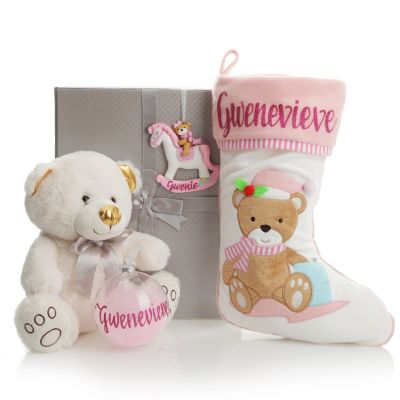Baby Girl First Christmas Gift Pack