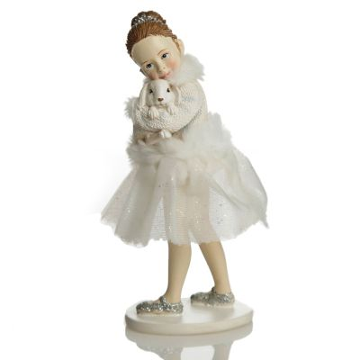 Ballerina and Bunny Ornament Whole product
