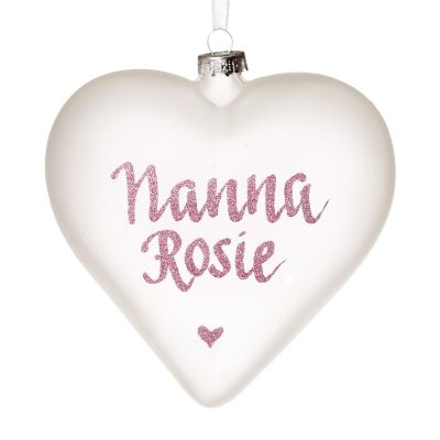 Frosted Glass Heart Whole product