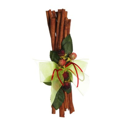 Christmas Cinnamon Stick Bunch with Green Berry Whole Product