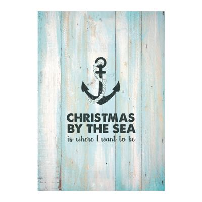 Christmas By The Sea Poster