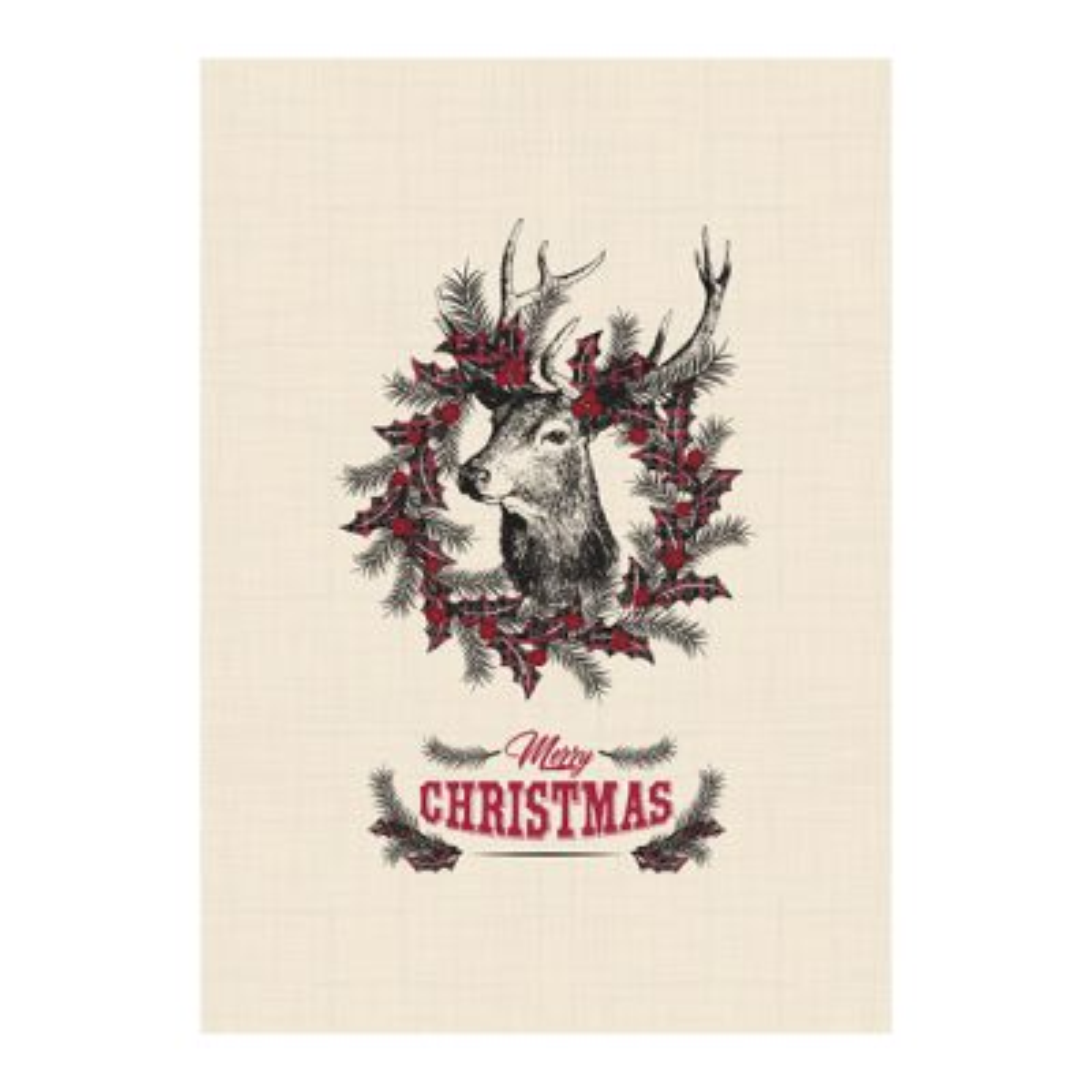 Farmhouse Christmas Poster