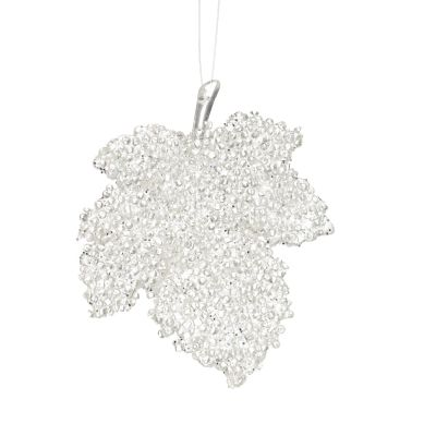 Clear Ice Autum Leaf Hanging Tree Decoration Whole product
