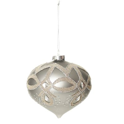 The product has been saved.  Deluxe Pewter Decorative Glass Final Large