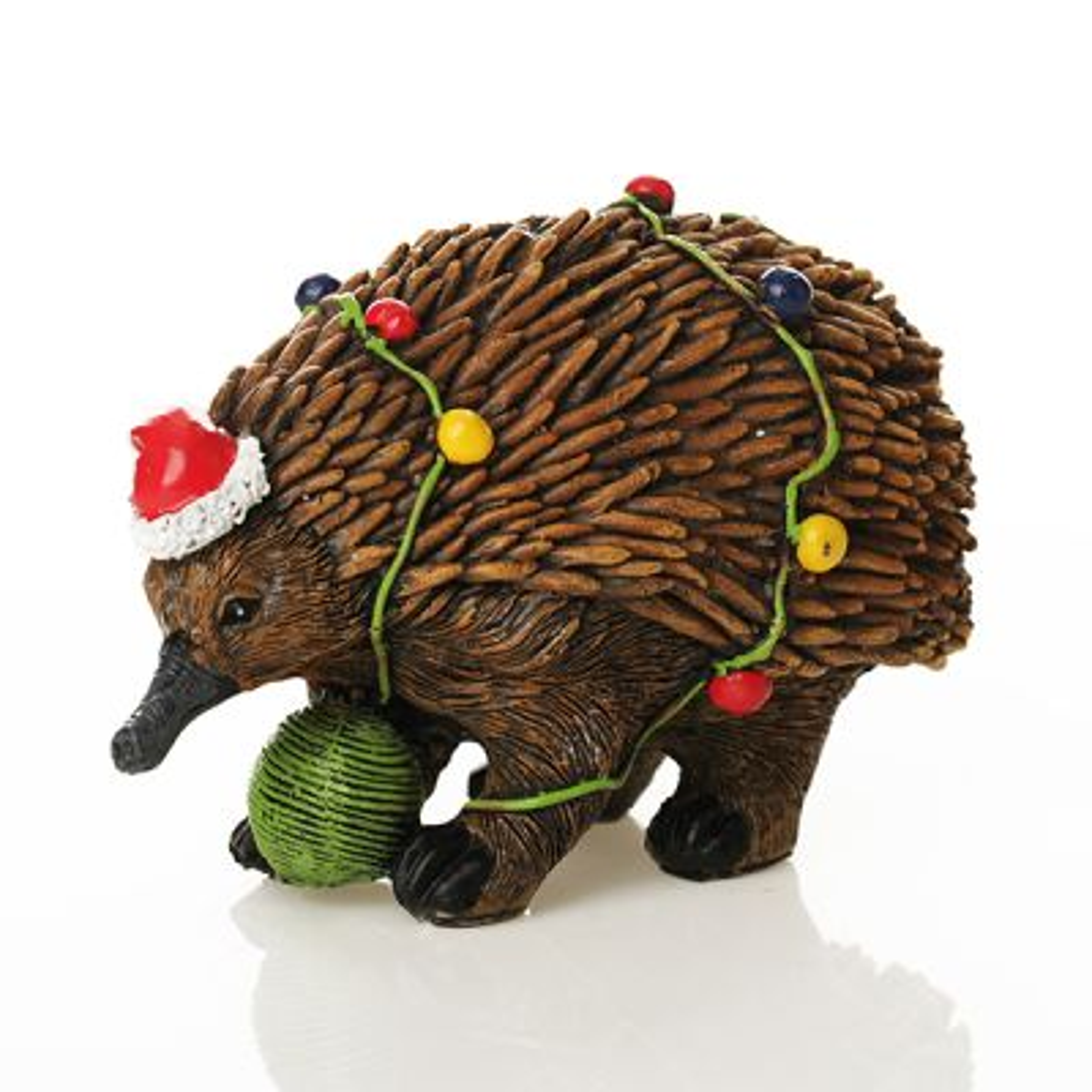 Echidna Australiana Christmas Ornament - Side