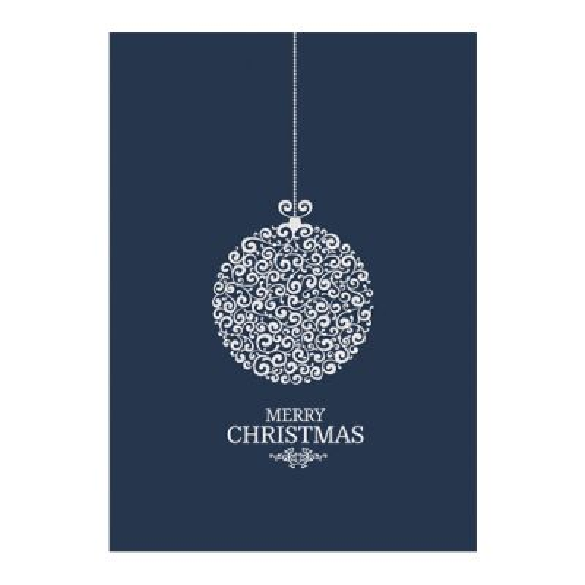Naturally Elegant Christmas Poster