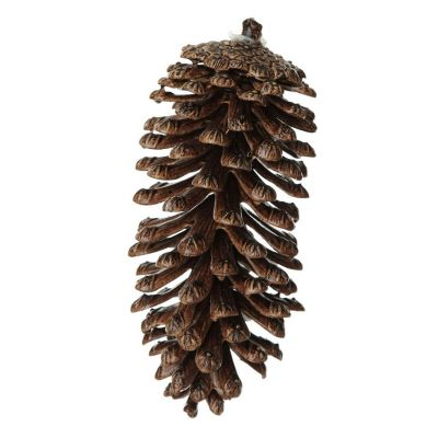 Faux Natural Pine Cone - Large