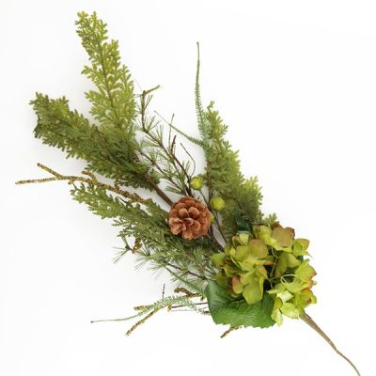 Fresh Floral Hydrangea Christmas Spray