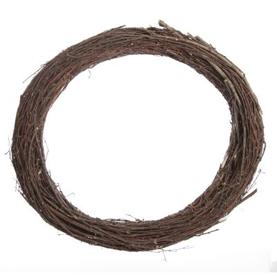 Grapevine and Twig DIY Wreath Base Oval