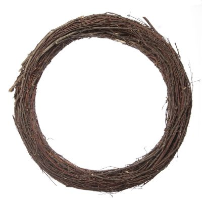 Grapevine and Twig DIY Wreath Base Round