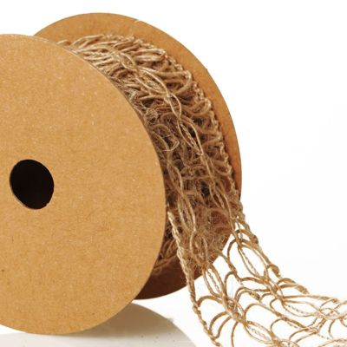 Natural Jute Decorative Braid Ribbon - Design C