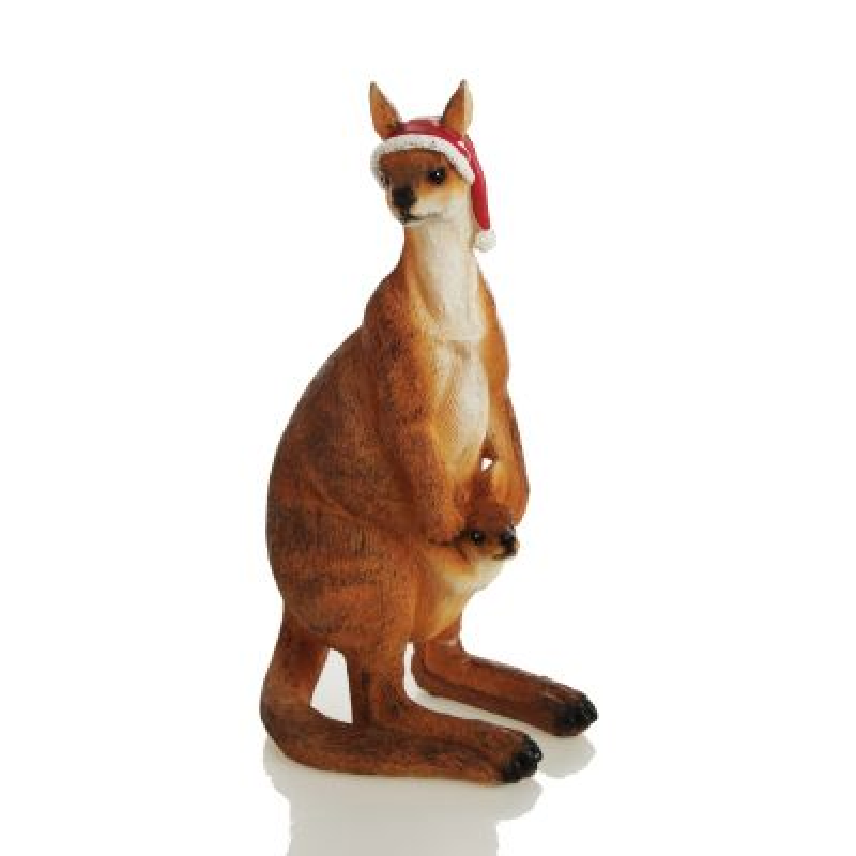 Kangaroo with Joey Australiana Christmas Ornament