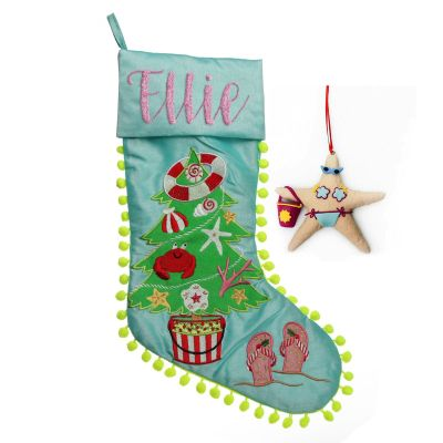 Beach Tree Stocking and Decoration Pack