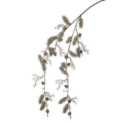 Pine And Cone Hanging Branch Garland