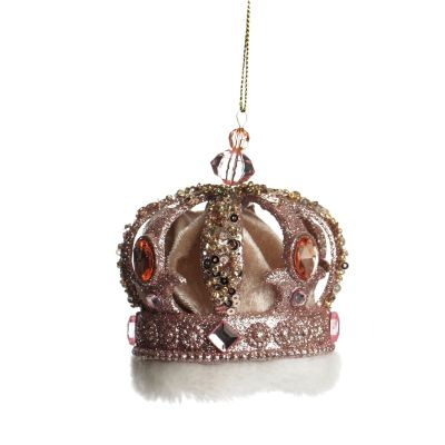 Pink Champagne Crown Decoration