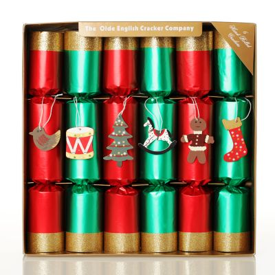 Red and Green Toy Box Christmas Bon Bons  with box