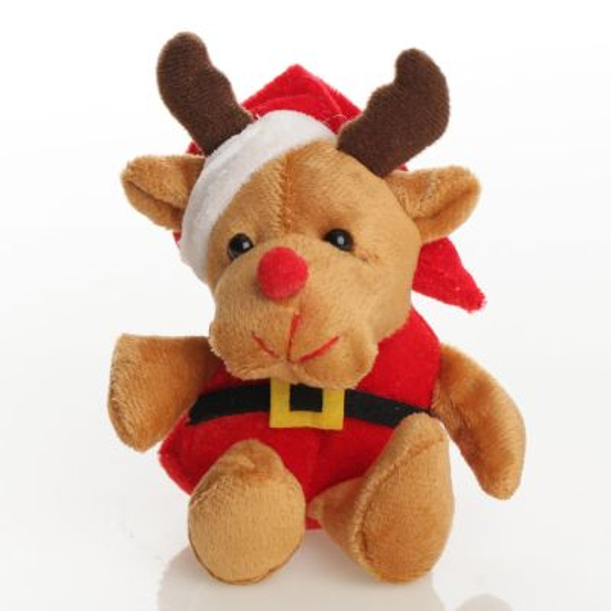 Reindeer in Santa Suit