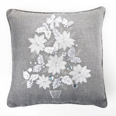 Silver Tree Cushion Cover