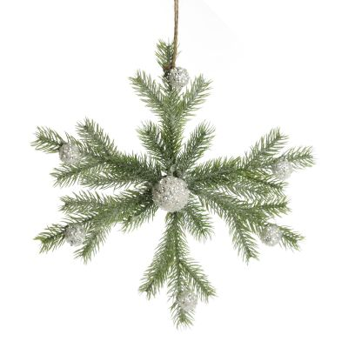Small Christmas Pine Snowflake Whole product