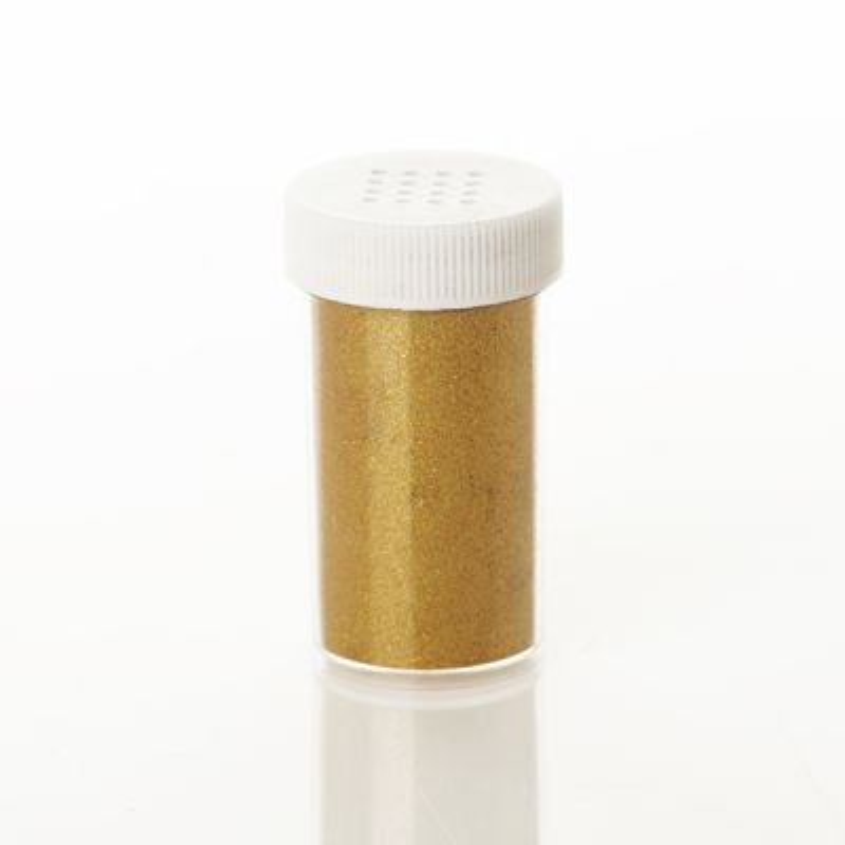 The Christmas Cart Gold Glitter Vial