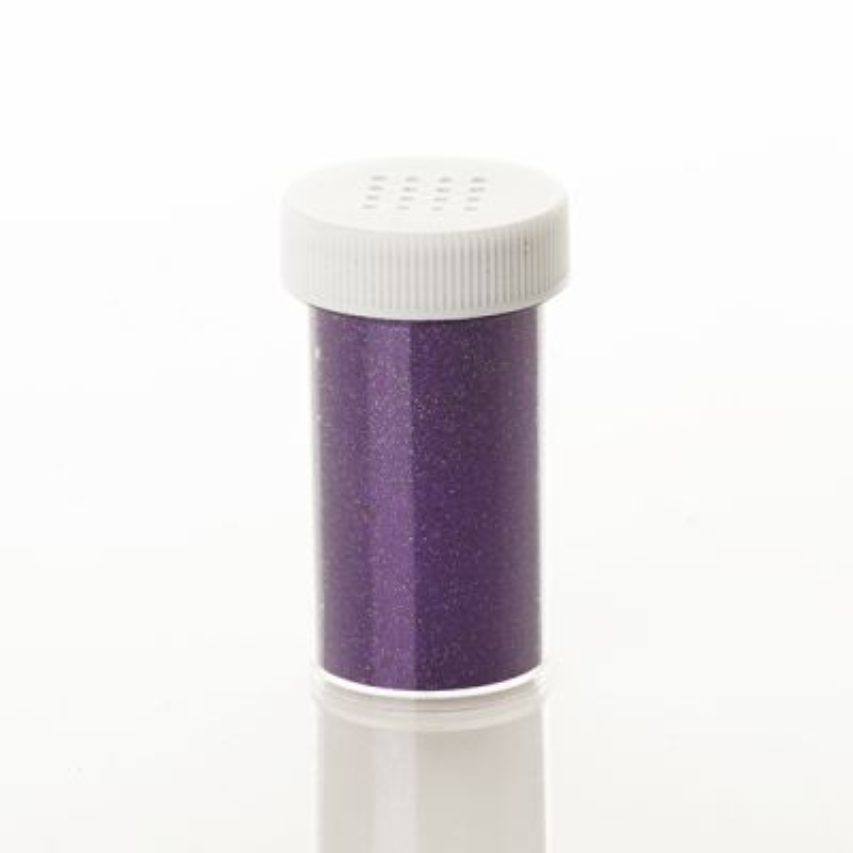 The Christmas Cart Purple Glitter Vial
