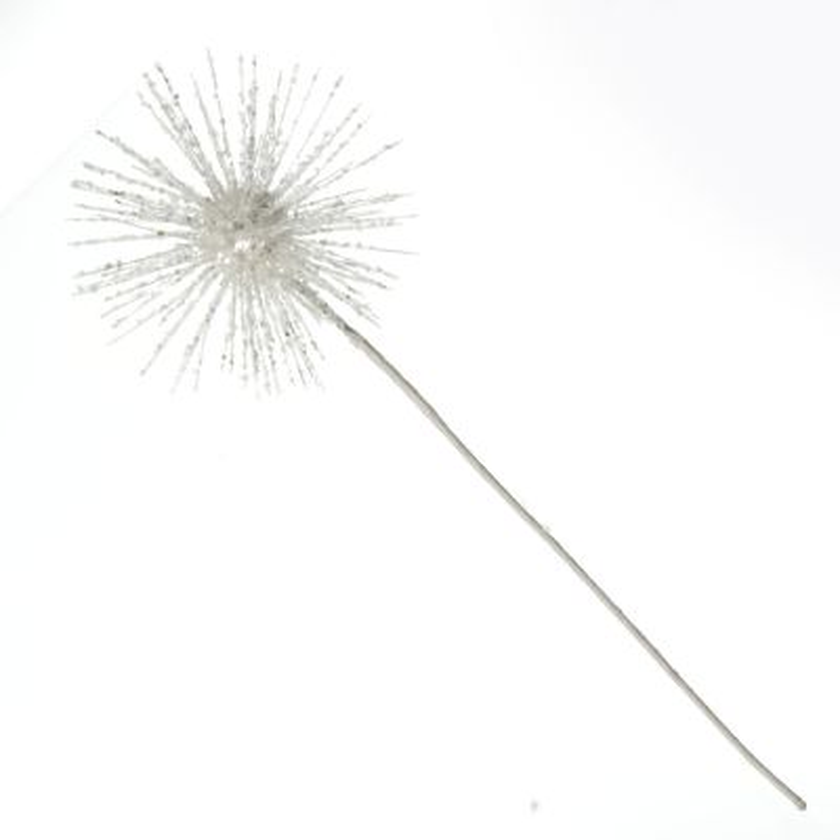 White Starburst Sparkle Pick