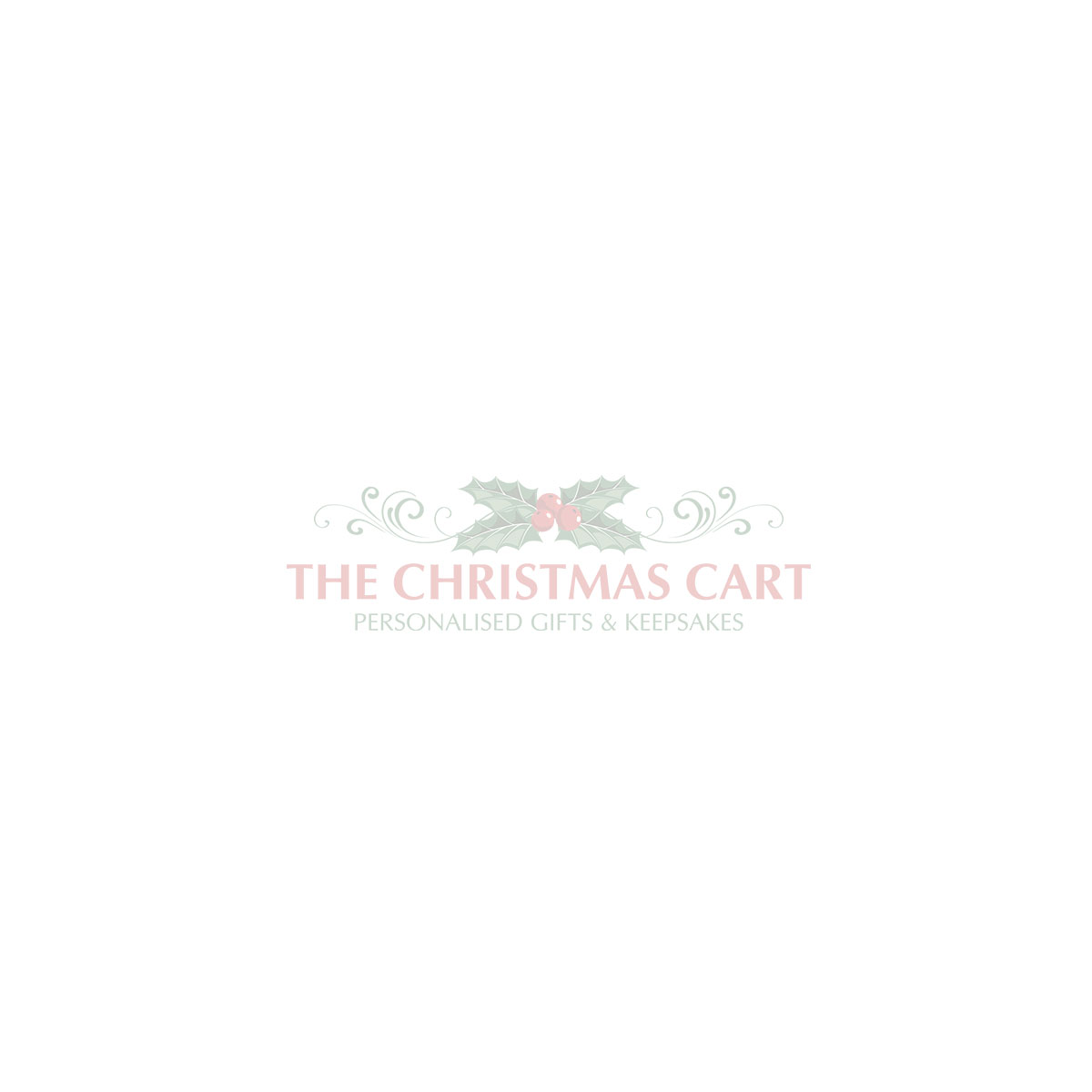 The Christmas Cart Blue Glitter Vial