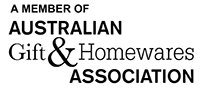A member of Australian gifts and homewares association