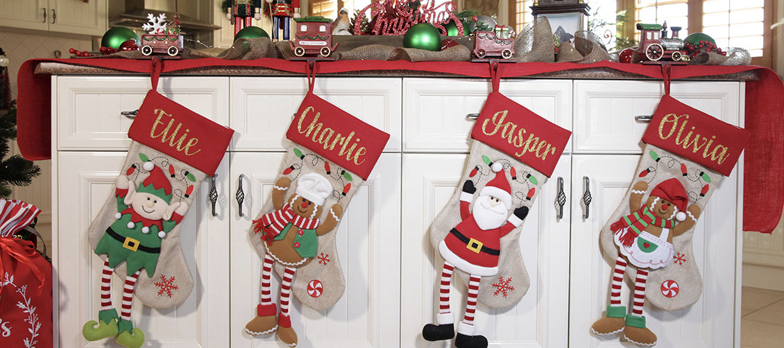 Christmas Kitchen Personalised Stockings