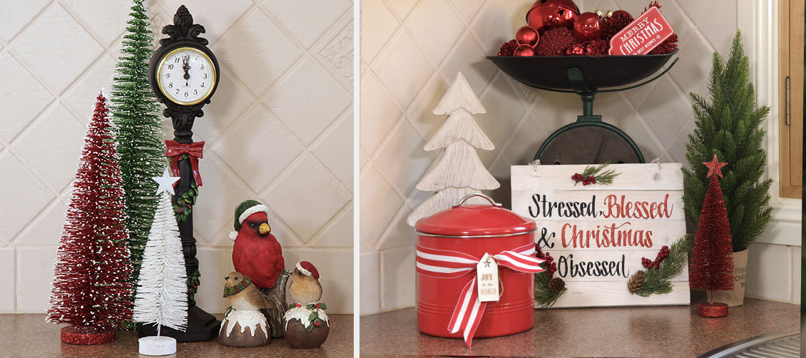 Christmas Kitchen Tabletop Ornaments