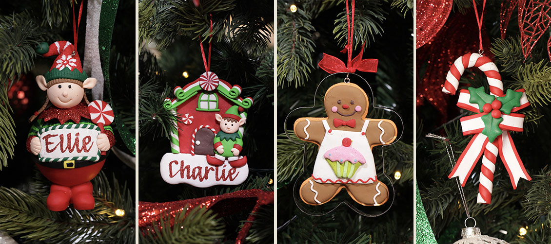 Christmas Kitchen Tree Decorations
