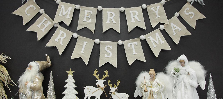 Bo Ho Glam Christmas Mantle