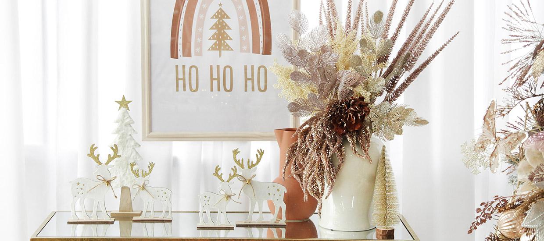 Bo Ho Glam Christmas Decorations
