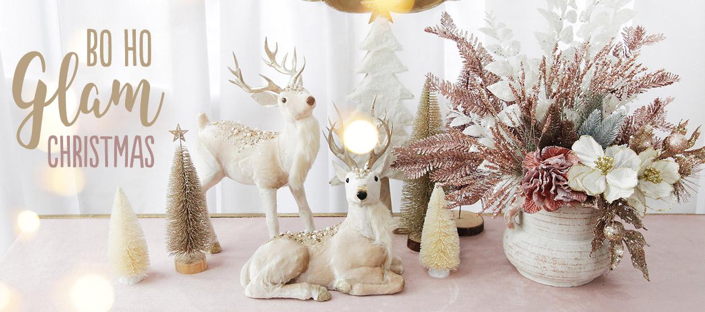 Bo Ho Glam Christmas Decoration Theme Collection