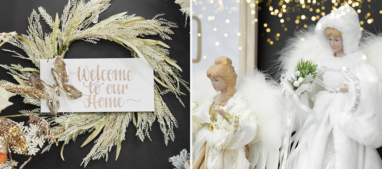 Bo Ho Glam Christmas Wreath