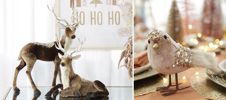 Bo Ho Glam Christmas Ornaments