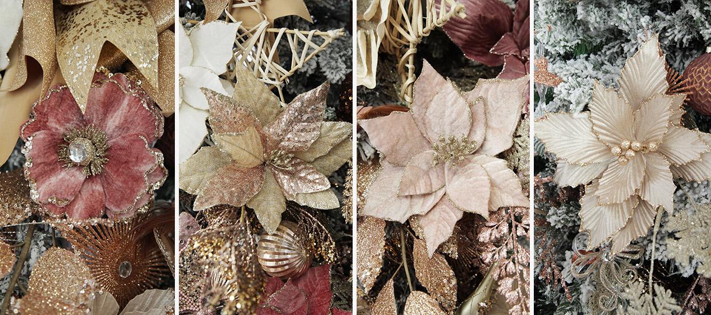 Bo Ho Glam Christmas Flowers