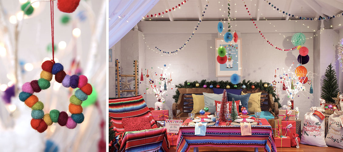 Christmas Fiesta Room Decoration