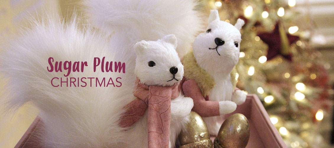 Sugar Plum Christmas Decorating Theme