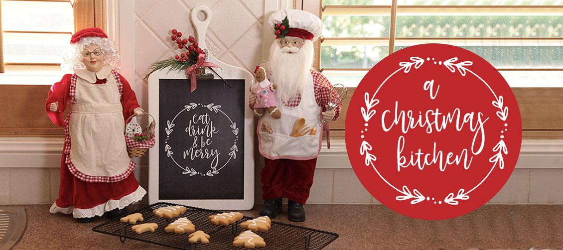 Christmas Kitchen decorating theme
