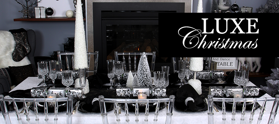 luxe christmas theme