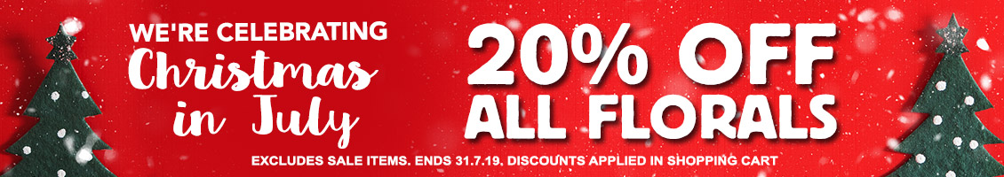 20% OFF ALL CHRISTMAS FLORALS